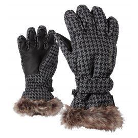 Ziener, Lim Girls, guantes de esquí, niños, gris, 4-15 años