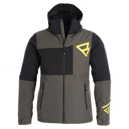 Brunotti, Flynn-S Mens Snowjacket chaqueta de esquí hombres pine gris