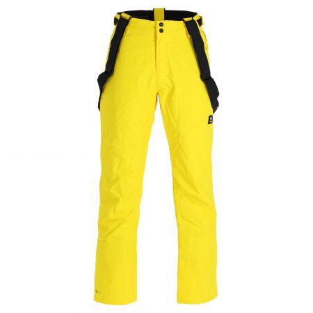 Brunotti, Footstrap Mens Snowpants pantalones de esquí hombres cyber amarillo