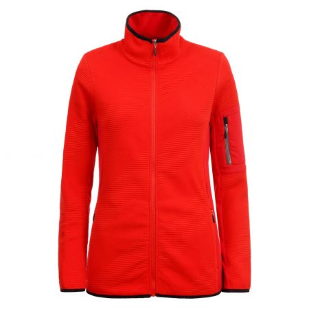 Icepeak, Emery chaleco slim fit mujeres coral rojo