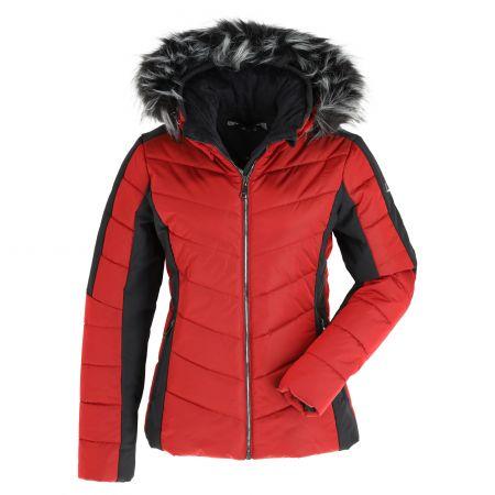 Luhta, Emas chaqueta de esquí mujeres classic rojo