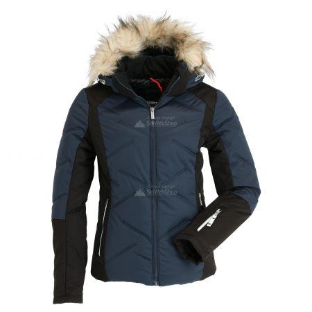 Icepeak, Elsah, chaqueta de esquí, mujeres, dark azul