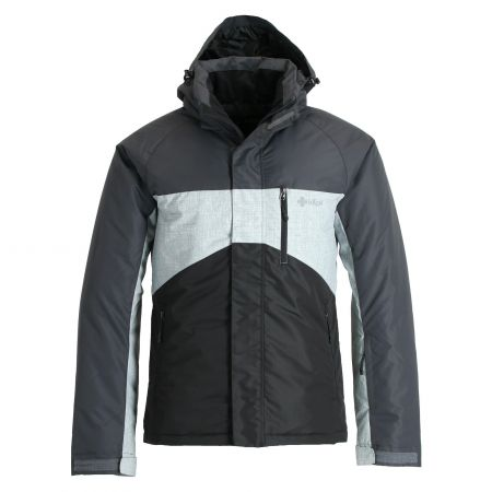 Kilpi, Ober, chaqueta de esquí, tallas extra grandes, hombres, negro