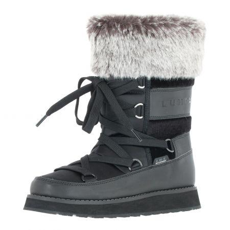 Luhta, Uusi Ms botas de nieve mujeres negro
