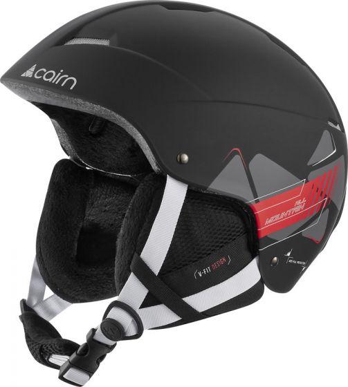 Cairn, casco mat racing negro