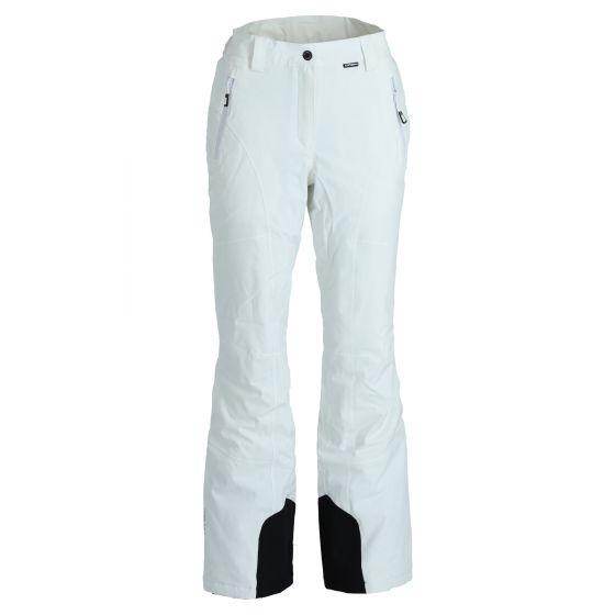 Icepeak, Freyung pantalones de esquí slim fit mujeres optical blanco