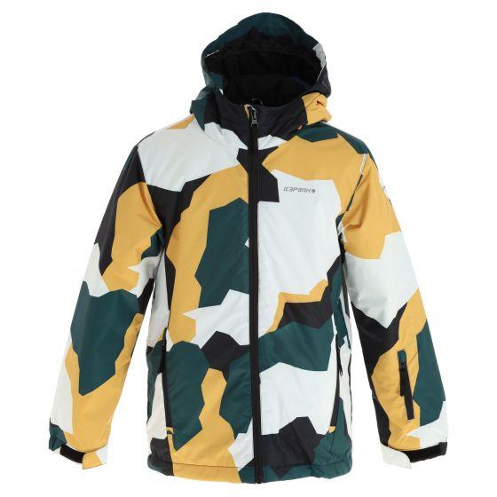 Icepeak, Locke Jr chaqueta de esquí niños antique verde