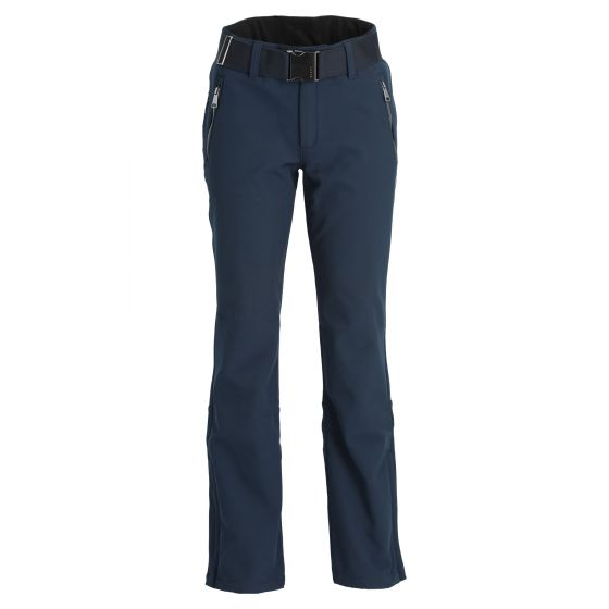 Luhta, Joentaus pantalones de esquí softshell mujeres dark azul