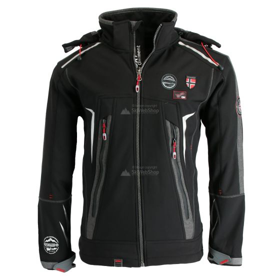 Geographical Norway, Tonic 007+RPT+BS2 chaqueta de esquí softshell hombres negro