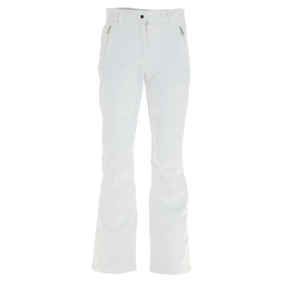 Icepeak, Outi, pantalones de esquí softshell, mujeres, blanco