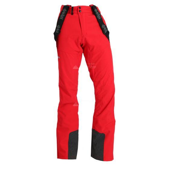 Kilpi,Rhea pantalones de esquí softshell tallas extra grandes hombres rojo