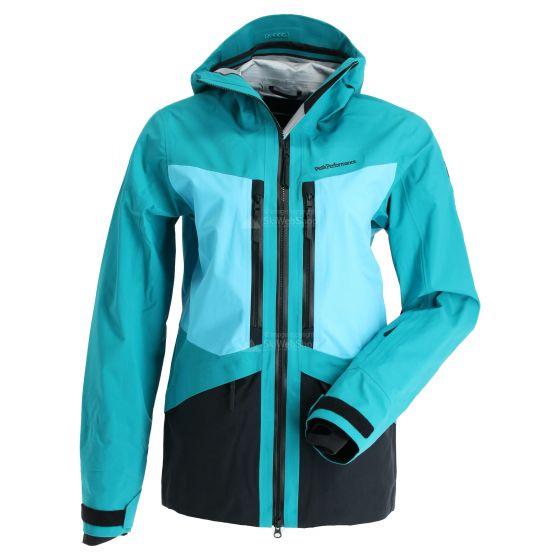 Peak Performance, Gravity 2L, chaqueta de esquí, mujeres, deep aqua
